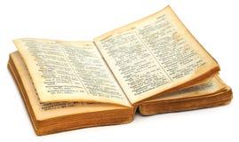 Παλαιό βεγγαλικό έως αγγλικό λεξικό Στοκ Εικόνες