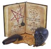 Μαγική κατακόρυφος βιβλίων Στοκ Φωτογραφία