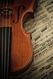 Παλαιό βιολί Στοκ εικόνα με δικαίωμα ελεύθερης χρήσης