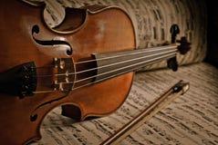 Παλαιό βιολί Στοκ φωτογραφία με δικαίωμα ελεύθερης χρήσης