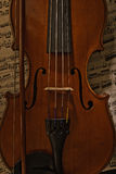 Παλαιό βιολί Στοκ Εικόνα