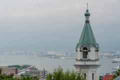 Παλαιό βρετανικό διάσημο κτήριο προξενείων στο Hakodate Στοκ εικόνες με δικαίωμα ελεύθερης χρήσης