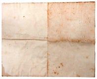 Παλαιό βρώμικο έγγραφο κατασκευασμένο Στοκ εικόνες με δικαίωμα ελεύθερης χρήσης