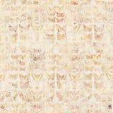 Παλαιό βρώμικο εκλεκτής ποιότητας υπόβαθρο πεταλούδων ύφους βοτανικό στο ξύλο διανυσματική απεικόνιση