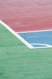 Παλαιό γήπεδο μπάσκετ Στοκ φωτογραφία με δικαίωμα ελεύθερης χρήσης