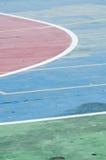 Παλαιό γήπεδο μπάσκετ Στοκ Φωτογραφίες