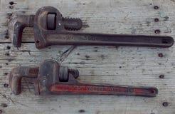Παλαιό γαλλικό κλειδί Στοκ φωτογραφία με δικαίωμα ελεύθερης χρήσης