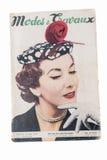Παλαιό γαλλικό περιοδικό μόδας Στοκ Εικόνες