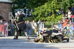 Παλαιό γεγονός ιπποτών Στοκ Εικόνες
