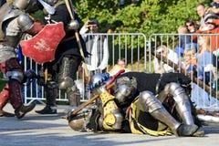 Παλαιό γεγονός ιπποτών Στοκ φωτογραφίες με δικαίωμα ελεύθερης χρήσης