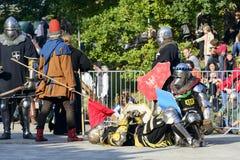 Παλαιό γεγονός ιπποτών Στοκ φωτογραφία με δικαίωμα ελεύθερης χρήσης