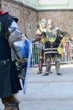 Παλαιό γεγονός ιπποτών Στοκ Φωτογραφία
