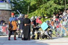 Παλαιό γεγονός ιπποτών Στοκ Φωτογραφίες