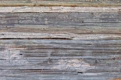Παλαιό γκρίζο ξύλινο υπόβαθρο Στοκ Εικόνα