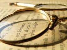 Παλαιό γυαλί ματιών Στοκ Εικόνες