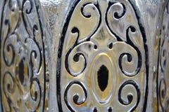 Παλαιό γυαλιού σχέδιο στροβίλου μερών ελαφρύ Στοκ Εικόνες