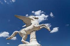 Παλαιό γλυπτό Pegasus στους κήπους Boboli στη Φλωρεντία, Ιταλία Στοκ εικόνες με δικαίωμα ελεύθερης χρήσης