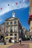 Παλαιό Δημαρχείο του κρησφύγετου Briel ή Brielle στις Κάτω Χώρες Στοκ Εικόνα