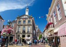 Παλαιό Δημαρχείο του κρησφύγετου Briel ή Brielle στις Κάτω Χώρες Στοκ Εικόνες