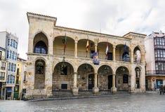 Παλαιό Δημαρχείο Zamora Ισπανία στοκ εικόνα με δικαίωμα ελεύθερης χρήσης
