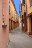 Κεντρική πόλη BRI της Μπολόνιας στοκ φωτογραφίες