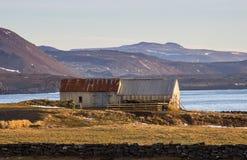 Παλαιό εγκαταλειμμένο αγρόκτημα. Στοκ Εικόνες