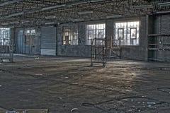 Παλαιό εγκαταλειμμένο εγκαταλειμμένο εργοστάσιο Στοκ φωτογραφίες με δικαίωμα ελεύθερης χρήσης