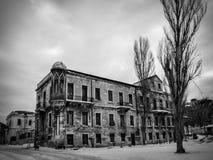 Παλαιό εγκαταλειμμένο κτήριο Στοκ Εικόνες