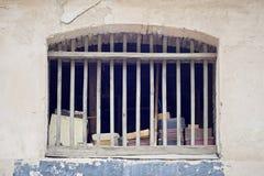 Παλαιό εγκαταλειμμένο δωμάτιο ξυλείας Στοκ εικόνα με δικαίωμα ελεύθερης χρήσης