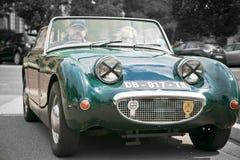 Παλαιό εκλεκτής ποιότητας βρετανικό μετατρέψιμο αυτοκίνητο Ώστιν στοκ εικόνες