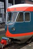 Παλαιό εκλεκτής ποιότητας ολλανδικό ηλεκτρικό τραίνο DE1 - Blauwe Engel Στοκ φωτογραφίες με δικαίωμα ελεύθερης χρήσης