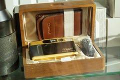 Παλαιό εκλεκτής ποιότητας Contax Carl Zeiss Στοκ φωτογραφίες με δικαίωμα ελεύθερης χρήσης