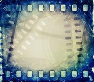 Παλαιό εξέλικτρο ταινιών κινηματογραφικών ταινιών με τη λουρίδα ταινιών Στοκ εικόνα με δικαίωμα ελεύθερης χρήσης