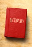 Παλαιό λεξικό Στοκ Φωτογραφία