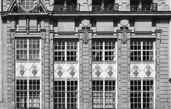 Παλαιό εξωτερικό προσόψεων Στοκ φωτογραφίες με δικαίωμα ελεύθερης χρήσης
