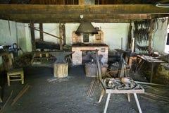 Παλαιό εργαστήριο σιδηρουργών Στοκ Εικόνες