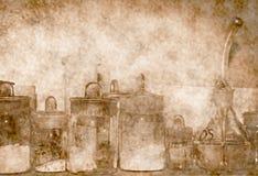 Παλαιό εργαστήριο Στοκ εικόνα με δικαίωμα ελεύθερης χρήσης