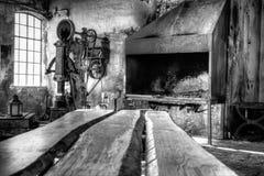 Παλαιό εργαστήριο Στοκ εικόνες με δικαίωμα ελεύθερης χρήσης