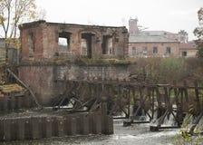 Παλαιό εργοστάσιο μεταξιού Στοκ εικόνα με δικαίωμα ελεύθερης χρήσης