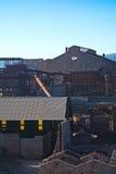 Παλαιό εργοστάσιο μεταλλείας Στοκ εικόνα με δικαίωμα ελεύθερης χρήσης