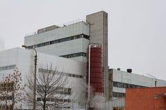 Παλαιό εργοστάσιο μπύρας Στοκ φωτογραφία με δικαίωμα ελεύθερης χρήσης