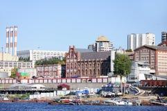 Παλαιό εργοστάσιο μπύρας Στοκ Εικόνες