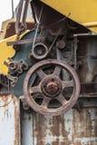 Παλαιό εργοστάσιο στη βιομηχανική ζώνη Στοκ Εικόνες