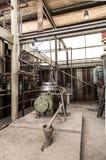 Παλαιό εργοστάσιο στη βιομηχανική ζώνη Στοκ Φωτογραφία