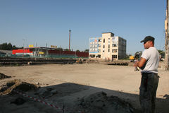 Παλαιό εργοστάσιο Proletarul σε Bacau Στοκ εικόνες με δικαίωμα ελεύθερης χρήσης