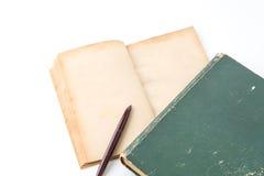 παλαιό λευκό βιβλίων Στοκ Εικόνες