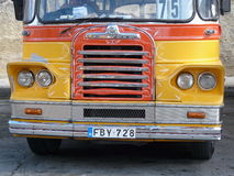 Παλαιό λεωφορείο της Μάλτας Στοκ Εικόνες