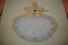Παλαιό ηλιακό ρολόι Στοκ εικόνα με δικαίωμα ελεύθερης χρήσης