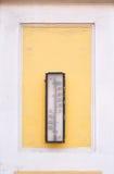παλαιό θερμόμετρο στοκ φωτογραφία