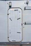 Παλαιό θωρηκτό πορτών σιδήρου Στοκ Εικόνες